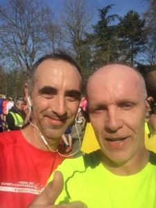 Arrivee du semi marathon de Paris 2015
