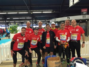 L equipe des experts comptables de Paris au semi marathon 2015
